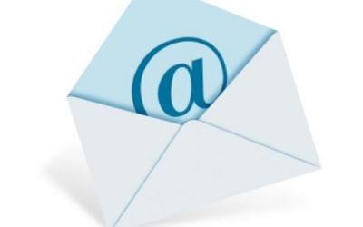 E-mails versturen vanuit AllUnited