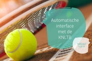 Automatische interface met KNLTB nu tweerichtingsverkeer
