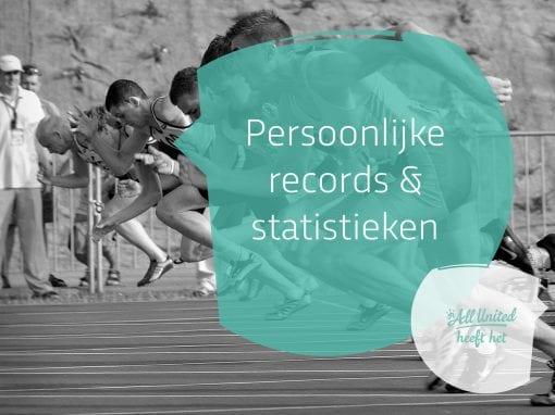 Persoonlijke records & statistieken