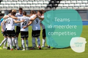 Teams in meerdere competities
