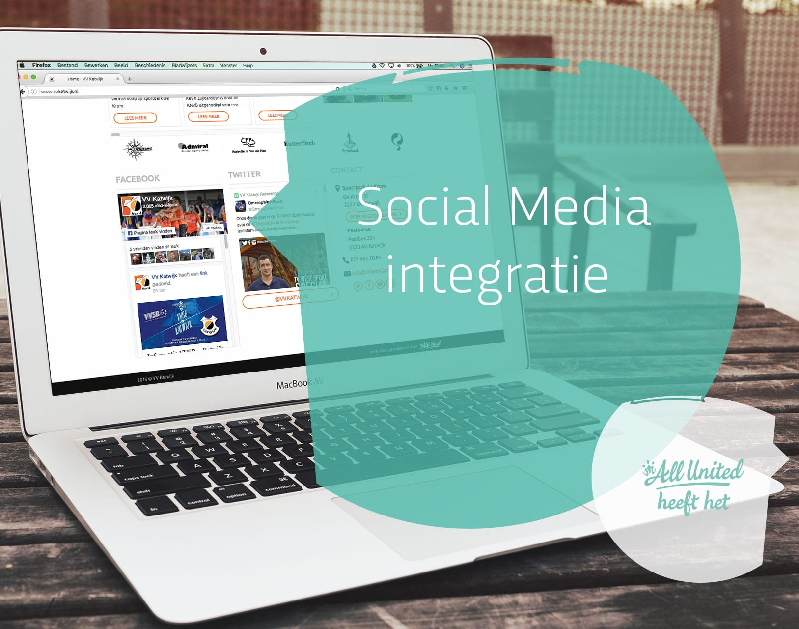 Socialmedia-integratie