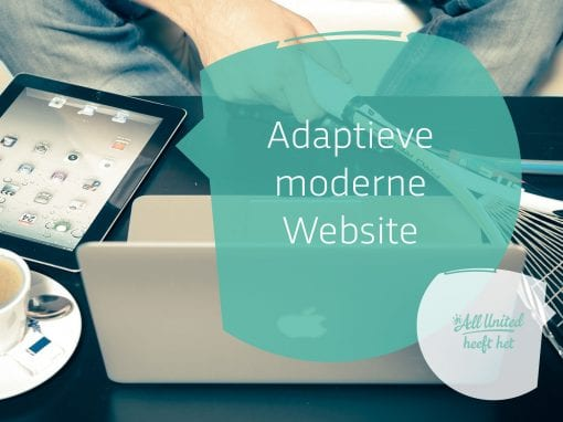 Moderne website met SSL