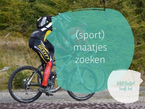 (Sport) maatje zoeken