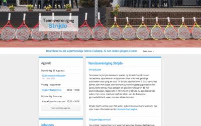 TV Strijdo eerste gebruiker nieuwe Webtemplate en supersnel live