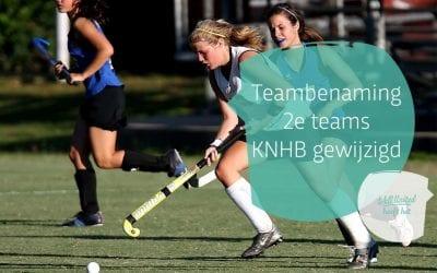 Teambenaming 2eteams KNHB gewijzigd