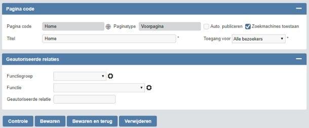 Zoekmachines toegang geven tot webpagina's {BELANGRIJK}